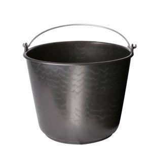 12 liter bouwemmer zwart