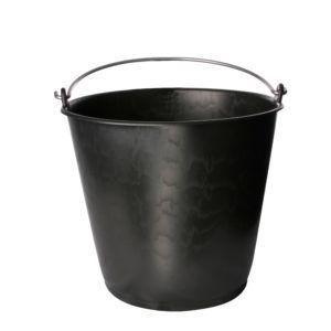 20 liter bouwemmer zwart
